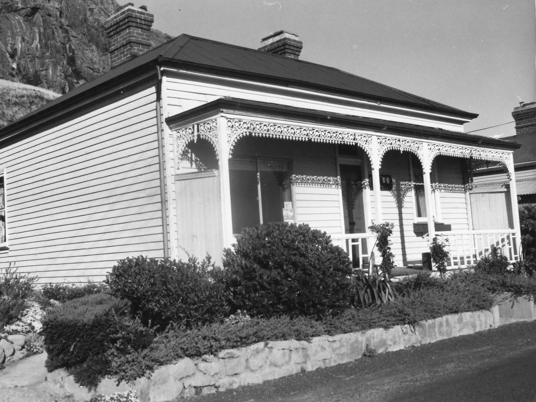 Gull Cottage, 1970, later to become the home of historian Meg Eldridge